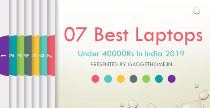 best laptops under 40000