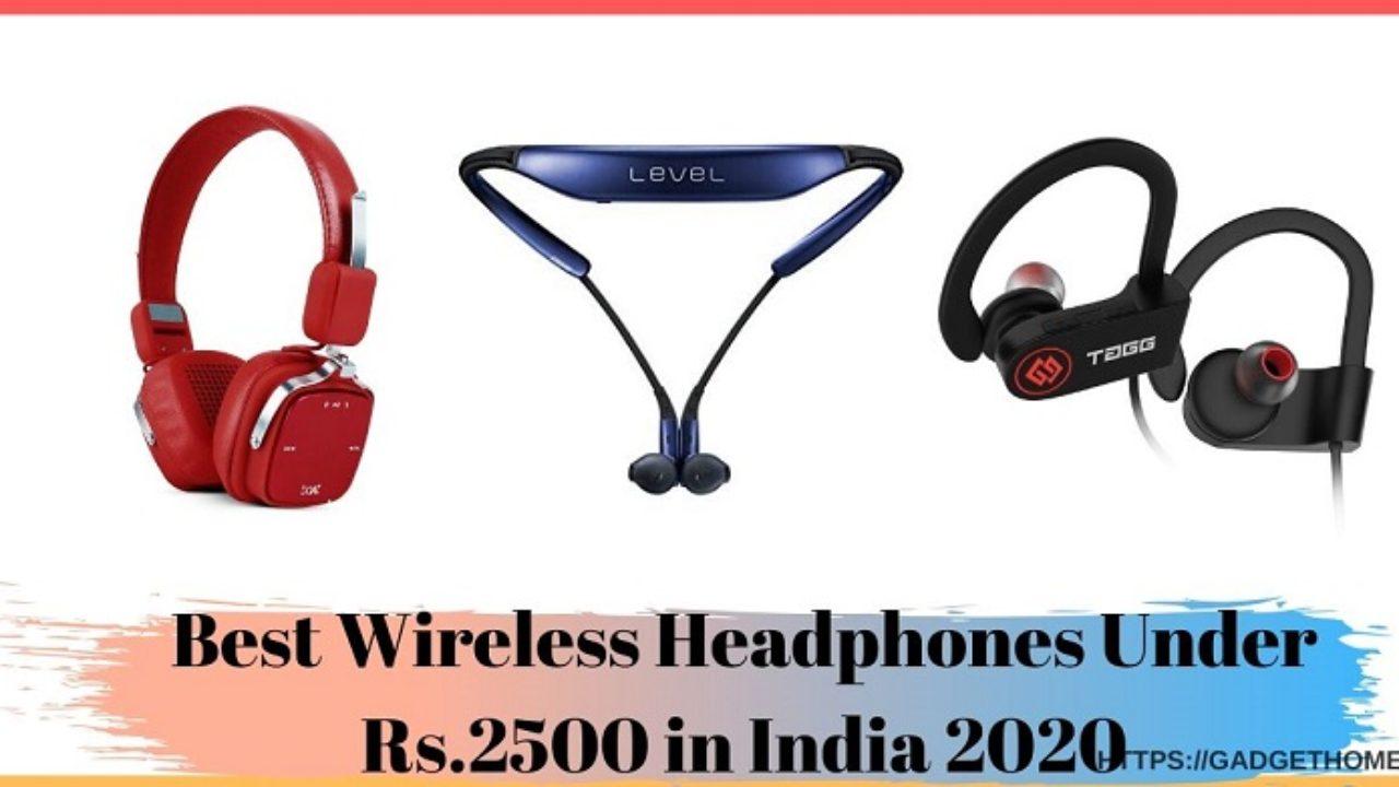 Best Wireless Headphones Under Rs 2500 In India Gadget Home